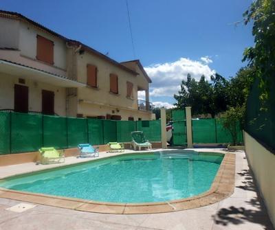 Gîte Anduze en Cévennes, 6 pers, piscine clim wifi