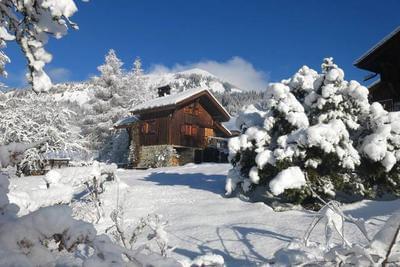 Maison typique de montagne 4-5 p. Face station ski