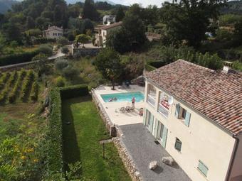Villa Les Terrasses du Chassezac piscine privée