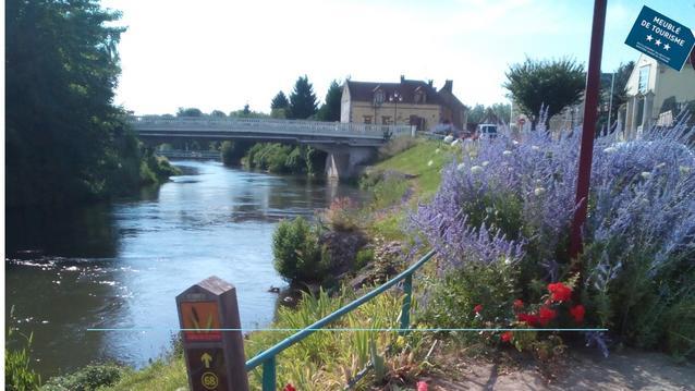 Aux 10 Ponts- Gîte aux abords du fleuve- Mer 30min