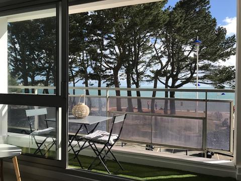 Appartement vue mer, plage, WIFI