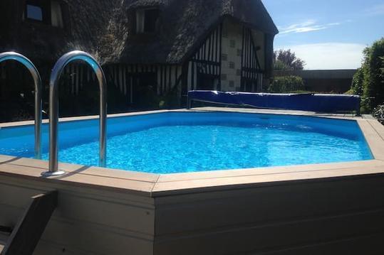 LaConterie  8 à 20 pers   HONFLEUR- SAUNA /piscine