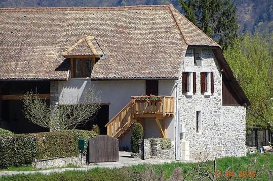 """Gîte : """"La grange au lac Azur"""""""