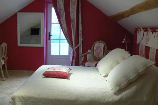 Chambre d'hôtes de charme entre Saumur, Doué la F.