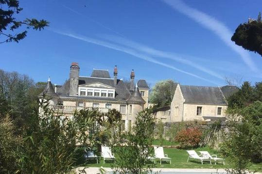 Cottage jardin avec piscine - Azay le rideau