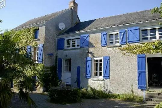 Maison bords de Loire