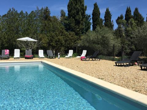 Maison 2 Alpilles Eygalieres  vacances piscine