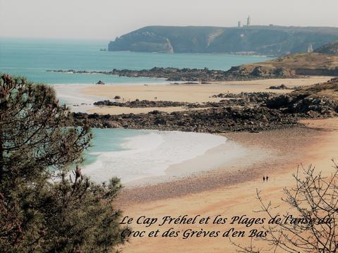 CAP FREHEL site protégé Gîte 4 pers plage à pied
