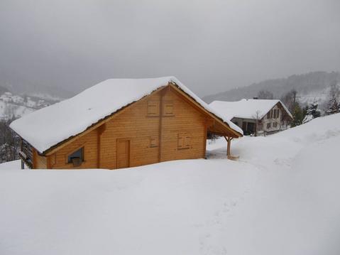 Chalet avec spa et sauna. Vue panoramique