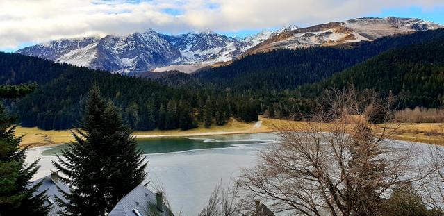 studio 5 pers face au lac payolle et duPic du Midi
