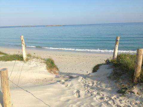 Gîte plain pied  , 4 pers , 2 chbs , 250 m plage