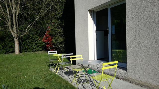 T2 au calme, 10 km Rocade Nord de Rennes, parking