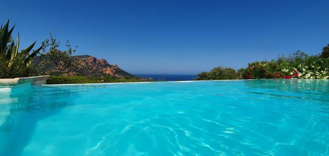 Villa 14 personnes, piscine et vue sur mer