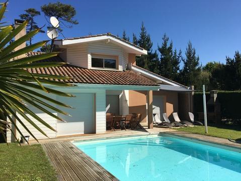 Villa 8 pers, 4 chambres avec piscine privée