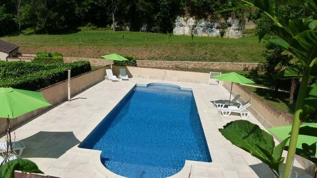 Appartement dans Sarlat avec terrasse et piscine