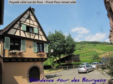 Plein sud, pied des Vosges, coeur du vignoble, con