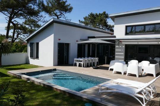 Villa 4**** océan, piscine chauffée, hammam