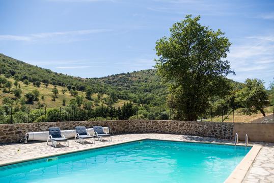 Gîte avec piscine 6 personnes (Percheron)