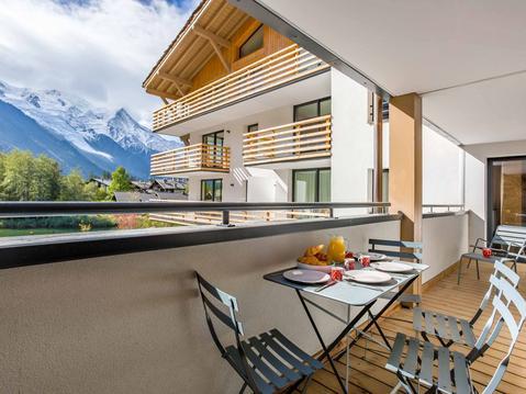 Chamonix Praz vue Mt Blanc Piscine chauffée 3 CH