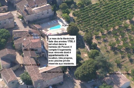 Gîte Magnanerie piscine classement 2*