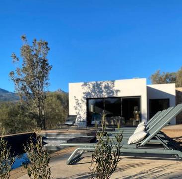 Le rocher : Villa avec piscine chauffée