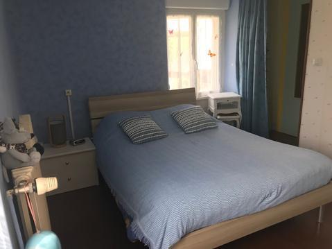 Chambre bleue de La Ferme aux Chevaux