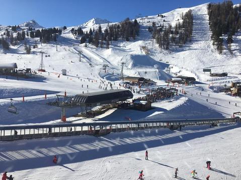 Plagne bellecote ski aux pied plein sud 4/5pers