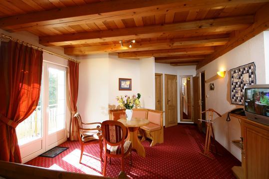 Chambre duplex HAUT KOENIGSBOURG pour 4 personnes.