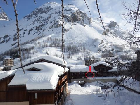 Studio 3-4 pers proche pistes Val d'Isère village