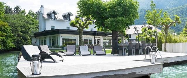 Superbe villa 15p, Bord de l'eau, Lac d'Annecy
