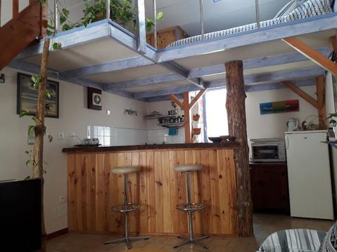 Ambiance cabane pour ce charmant studio mezzanine