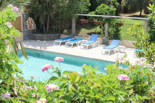 Joli studio climatisé avec piscine