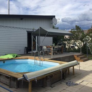 Villa 1950 piscine et spa à 20 min des pistes