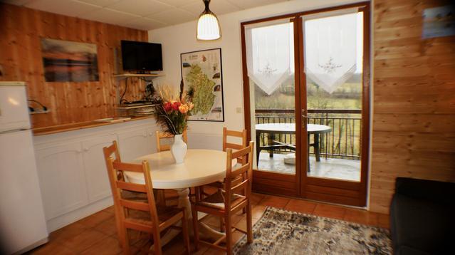 Appartement avec terrasse vue sur campagne